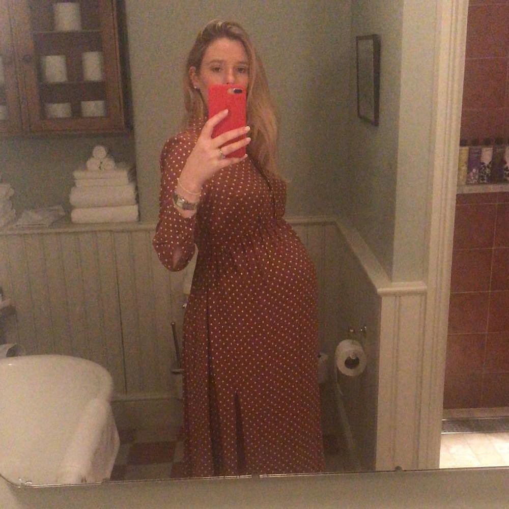 Maternity dress topshop