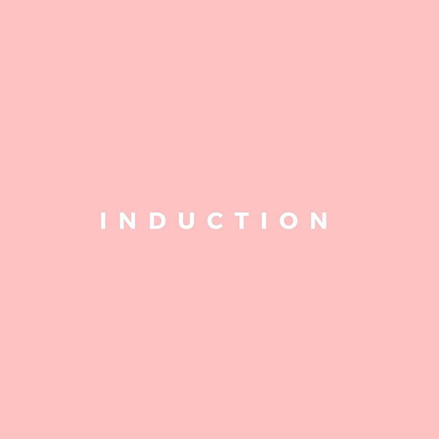 I is for Induction