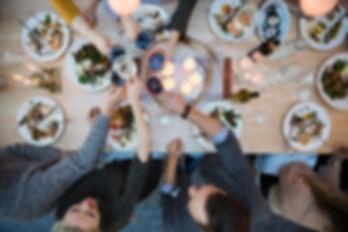 service table d'hôte à la Casa Estrelita villa à louer au Portugal à Tavira