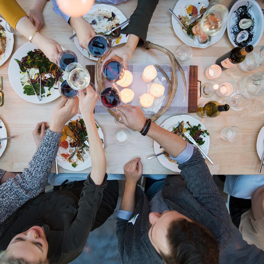 Middag i Paris