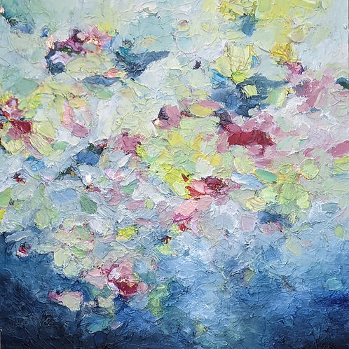 """TOUCH THE SKY, 36""""X36"""""""