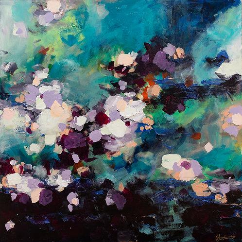 """Violet Fields"" Print"