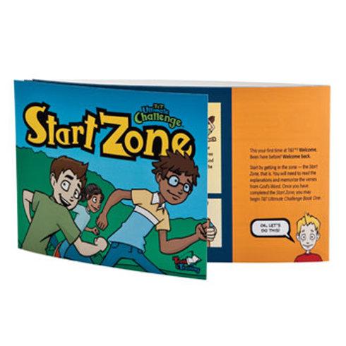T&T Ultimate Challenge Start Zone Entrance Booklet