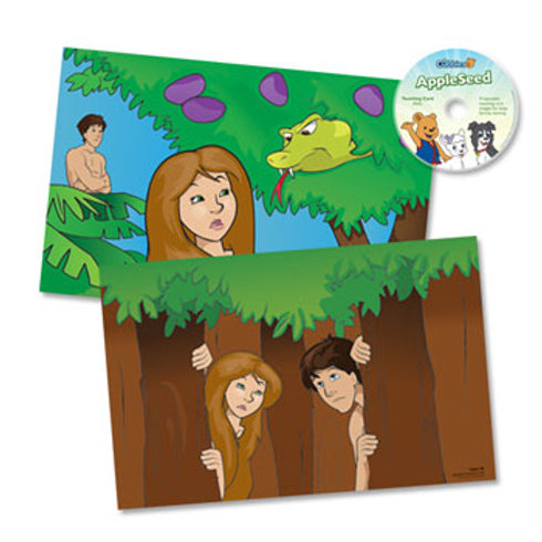 AppleSeed Teaching Cards with CD