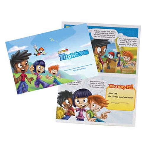 Sparks Flight 3:16 Entrance Booklet