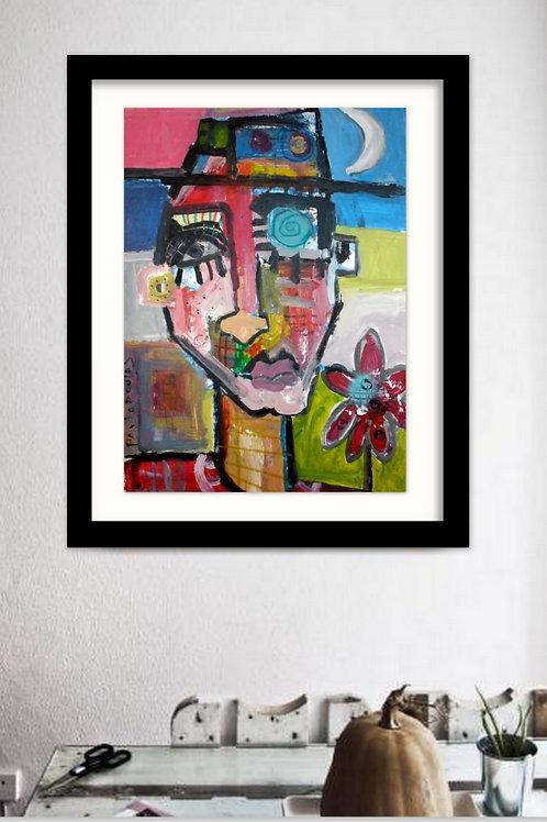 Modern portrait Amigo # 16