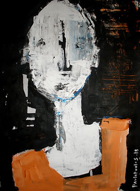 Abstract Portrait anonymous serie by artist Dimitris Pavlopoulos