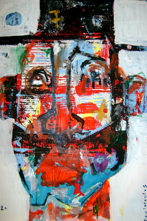 Abstract portrait anonymous