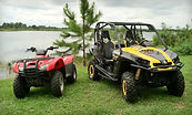 side by side ATV, 4x4