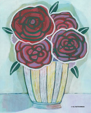 Roses in a vase KJ Hutchings.jpg