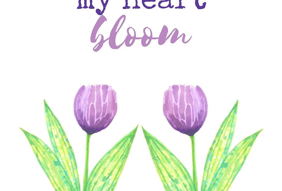 You make my heart bloom #2