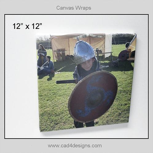 "12""x12"" Canvas Wrap"
