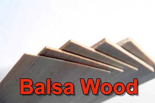 Balsa Wood Sheet approx 95mm x 220mm