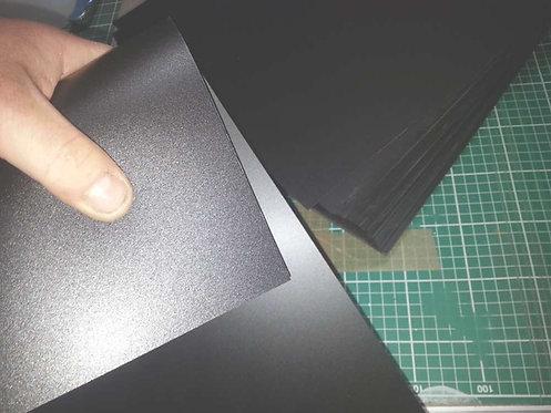 A3 Black Polypropylene Sheet
