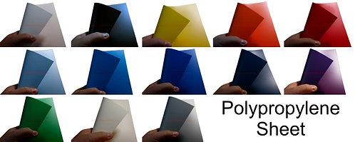 Polypropylene Sheet A3 ( 4 sheets )