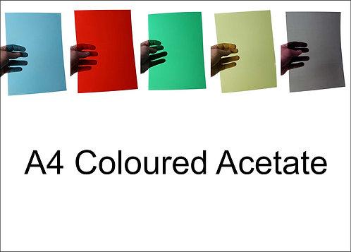 A4 Coloured Acetate