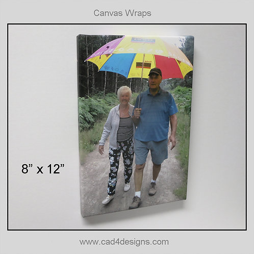 "8""x12"" Canvas Wrap"
