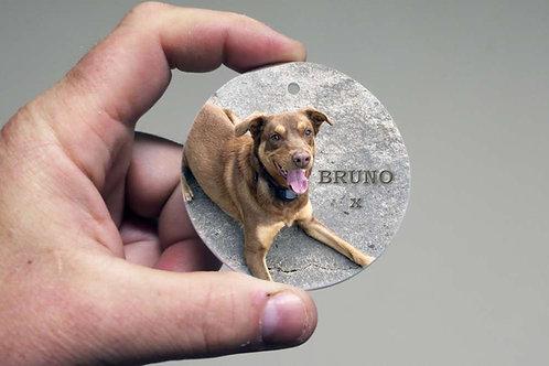 Photo Ceramic 7cm Disc - Personalised