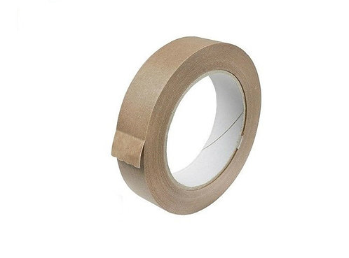 Self Adhesive Paper Tape 25mm x 50m 1 Roll