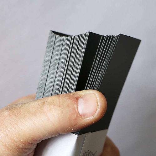 0.8 Black Polypropylene off-cuts A
