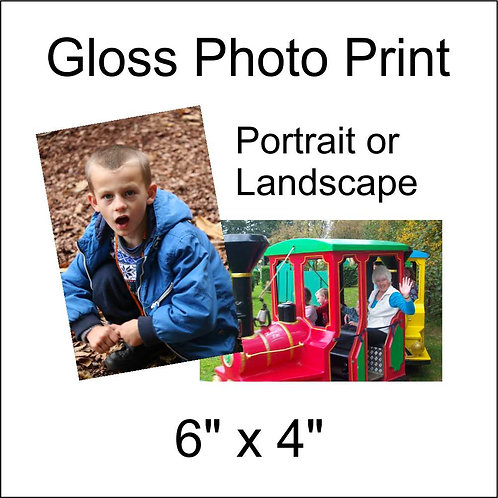 6x4 Photo Print Gloss