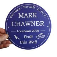 Lockdown Wall