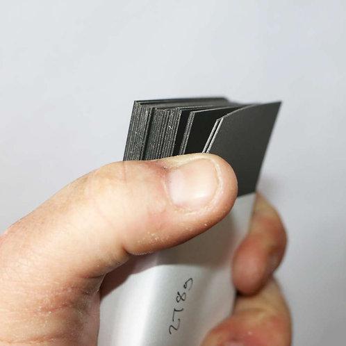 0.8 Black Polypropylene off-cutsC
