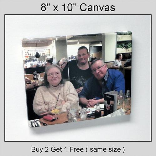 "8""x10"" Canvas Wrap"