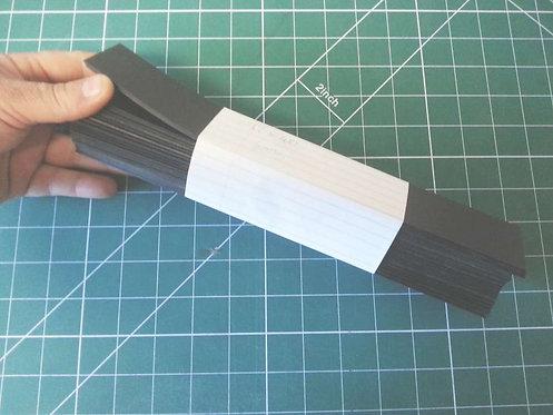 0.8 Black Polypropylene off-cuts E