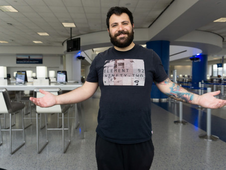 Νέα Υόρκη - Λονδίνο - Ζυρίχη - Ελλάδα εν μέσω κορονοϊού. Ταξίδι περιπέτεια (φωτογραφίες)