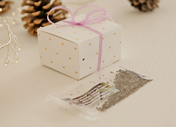 GIFT - LAVENDER SEEDS IN BOX