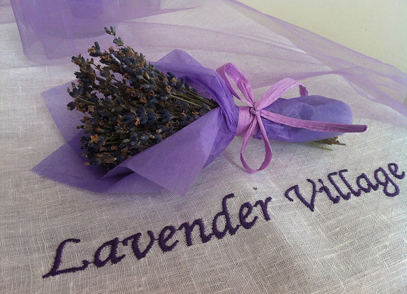SMALL DRIED LAVENDER BOUQUET