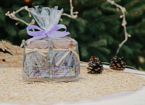 GIFT SET - LAVENDER BLOOMS & LAVENDER LEAVES