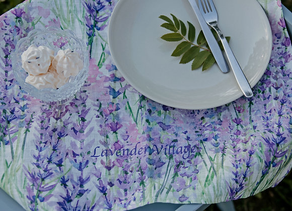 KITCHEN TOWEL WITH LAVENDER