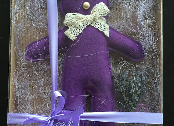 SCENTED LAVENDER BEAR
