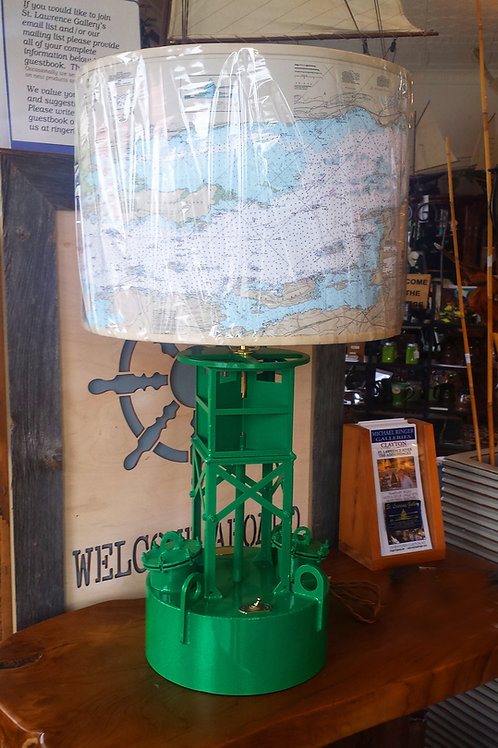 Green Buoy Lamp