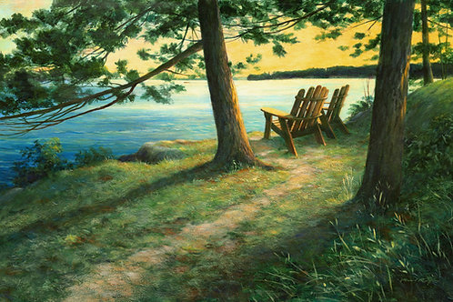 Adirondack Chairs (Hill Island)