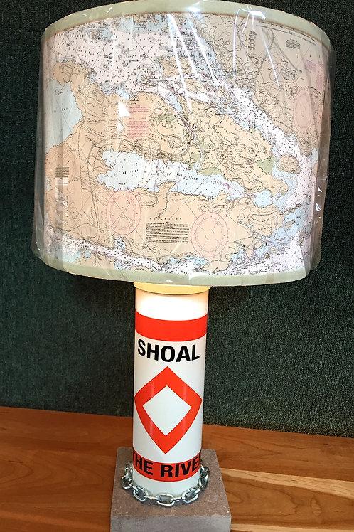River Shoal Marker Lamp - Chart Shade SMALL