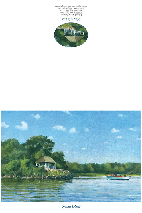 Picnic Point Notecard