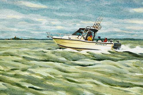 Pursuit Fishing Boat