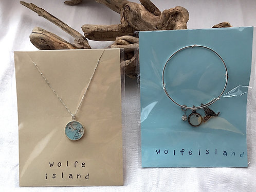 Cape Vincent - Wolfe Island Necklace & Bracelet Set