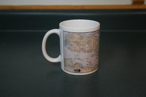 NEW-Thousand Islands - NOAA Mug Chart
