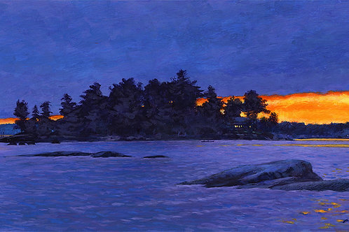 """Horizon Light at Little Ironsides Island"""