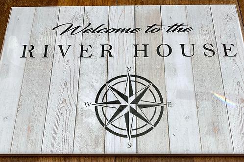 "River House 8"" X 12"" Tile"