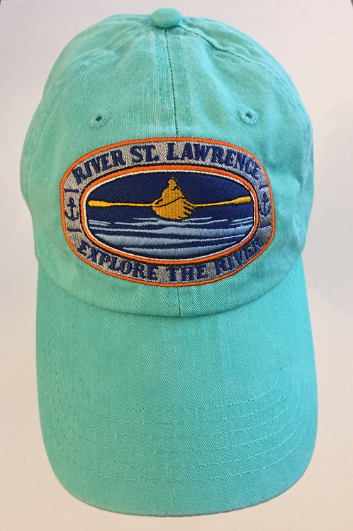 Explore The River Hat ~ Seafoam