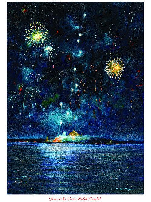 Fireworks Over Boldt Castle