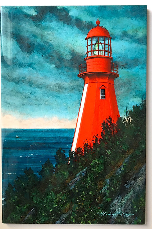 "LeMartyre Lighthouse 8"" X 12"" Tile"