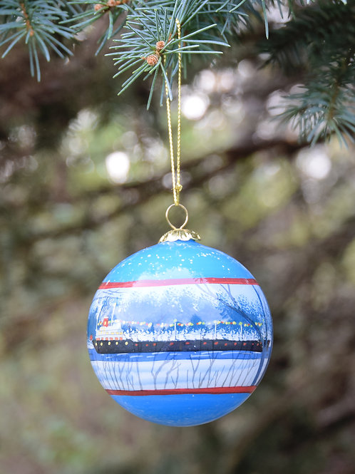 Christmas Ship Ornament