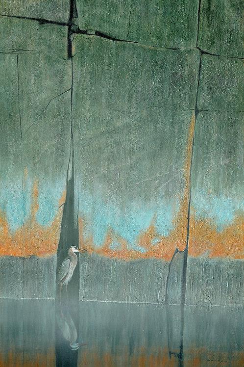 Crevise Heron