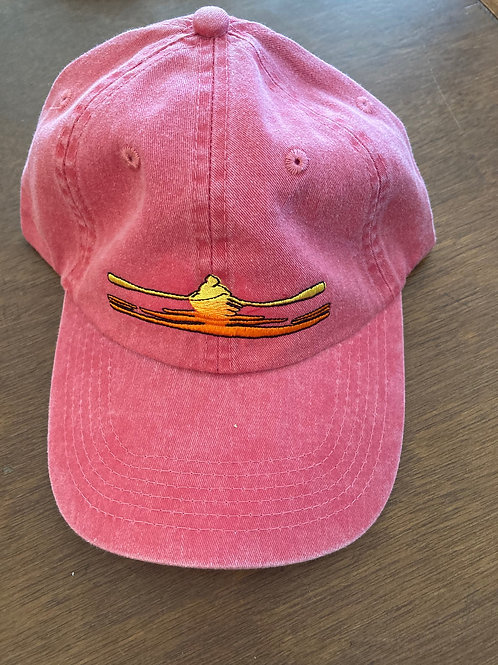 River Rower Hat ~ Coral